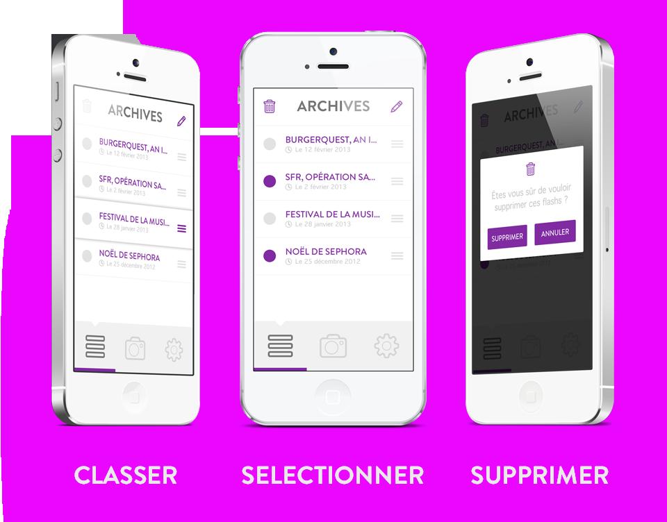UI/UX design application mobile Flash - Seempl Studio