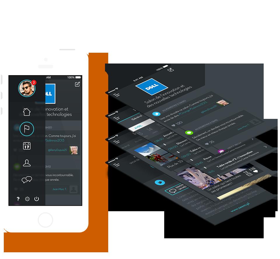 Product design & UI/UX design application mobile WonderApp - Seempl Studio